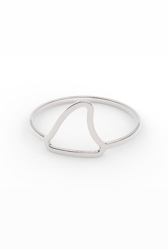 NazanShark anillo inspirado en el tiburón blanco